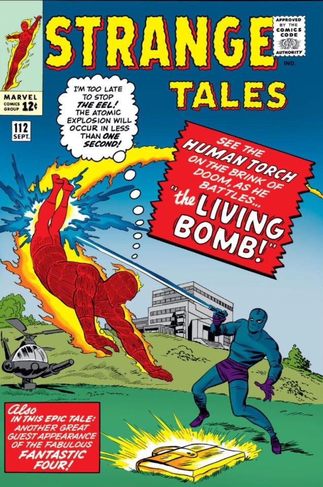 Strange Tales Vol 1 112   Marvel Database   Fandom