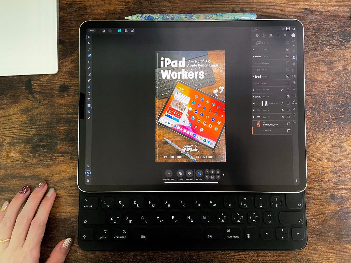 iPad Workers本の表紙イメージ