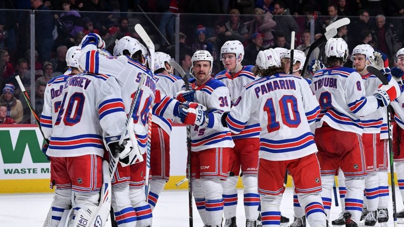 New York Rangers complete mind-blowing comeback vs Montreal Canadiens