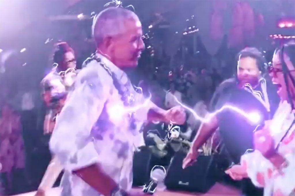 Obama Birthday Party Video Erykah Badu Posted Shows Ex-President Dancing |  NewsOne