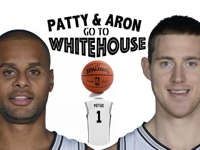 Patty and Aron go to White House