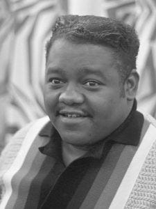 Photo of Fats Domino.