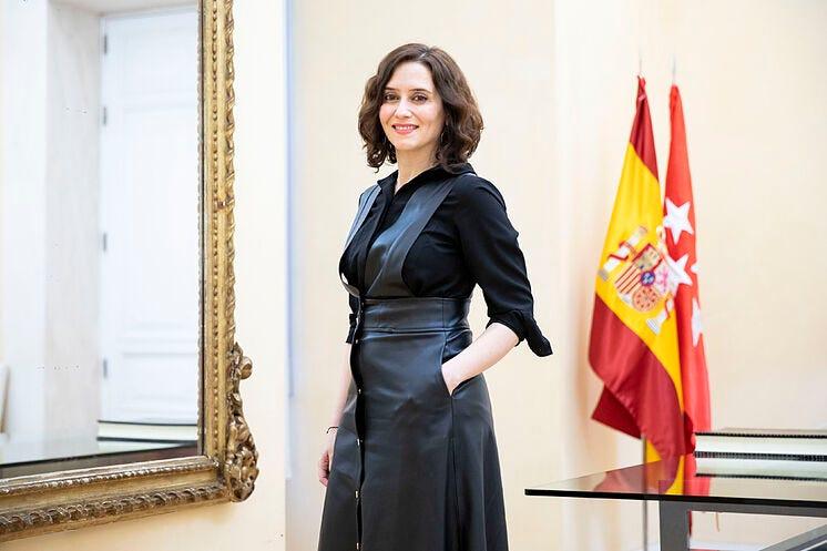 """Isabel Díaz Ayuso: """"Defiendo que empecemos a plantear una confluencia con  Cs en Madrid""""   Madrid"""
