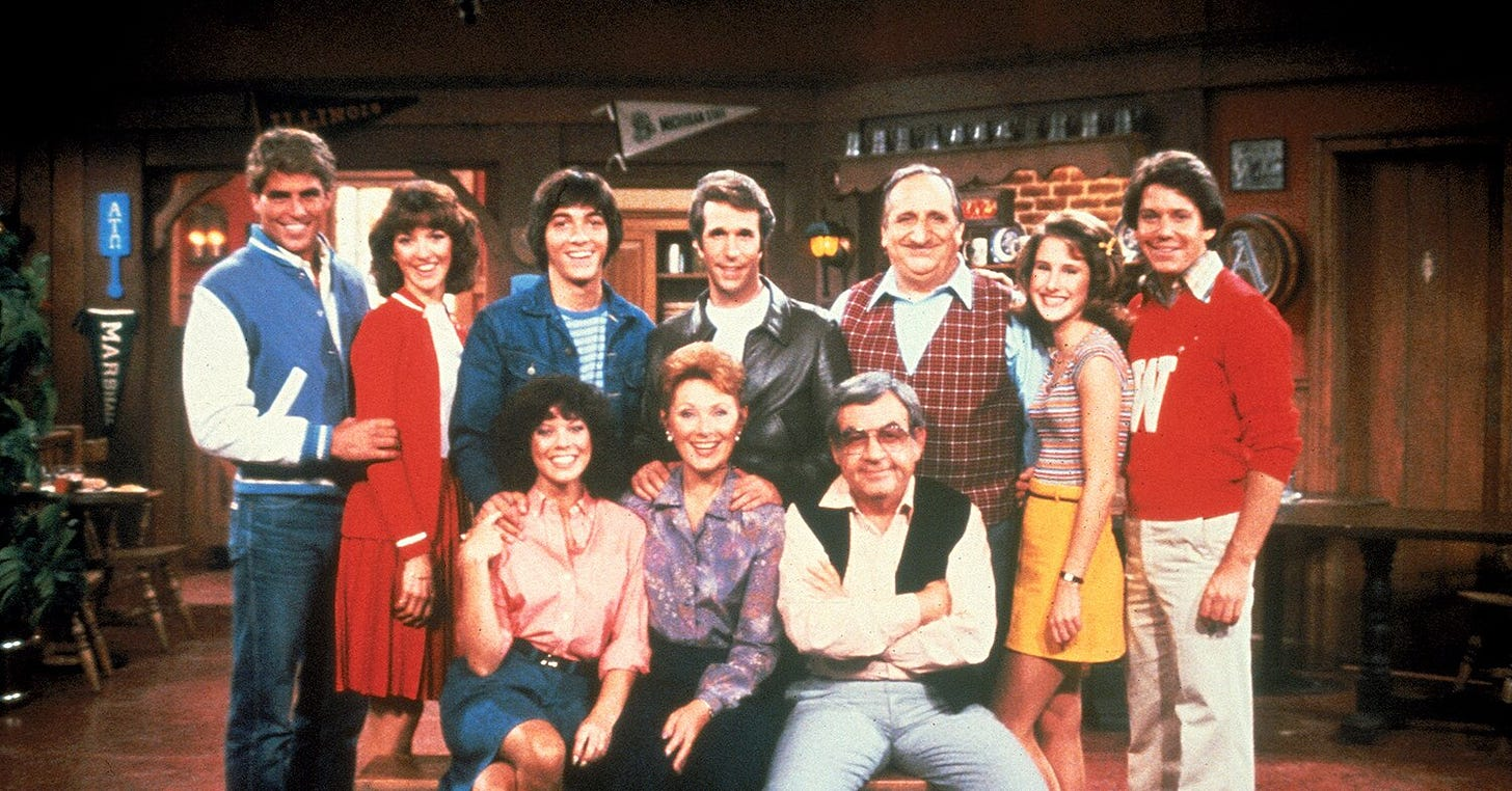 Happy Days, The Love Boat and More Classics Available for Free on Pluto TV  | PEOPLE.com
