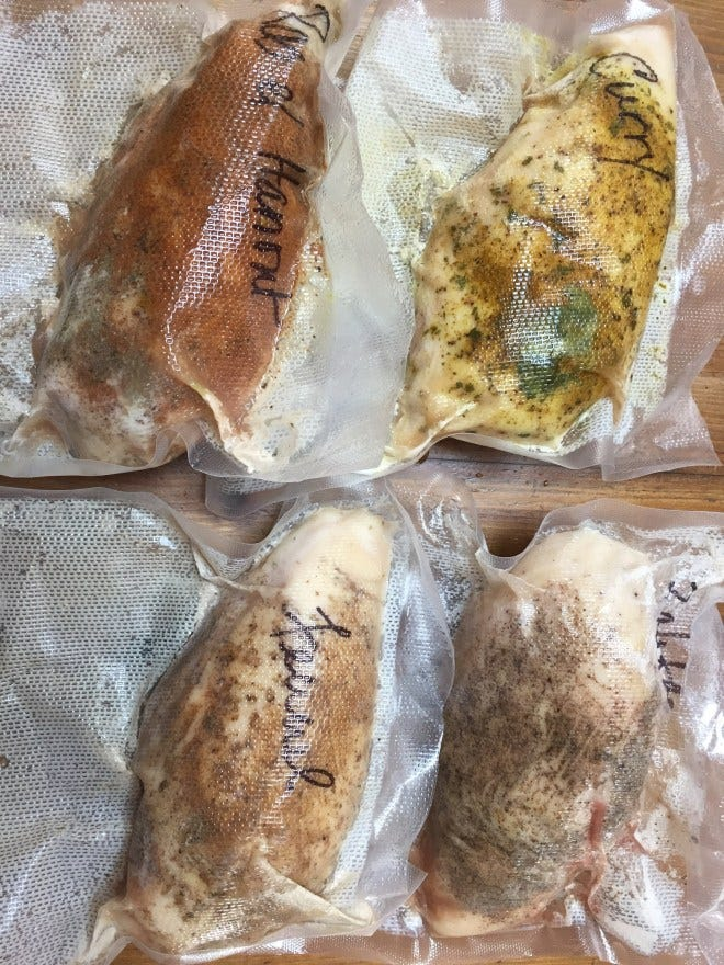Image result for vacuum sealed chicken breast