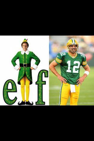 Aaron Rodgers | Buddy the elf, Aaron rogers, Aaron rodgers