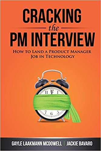 Cracking the PM interview book