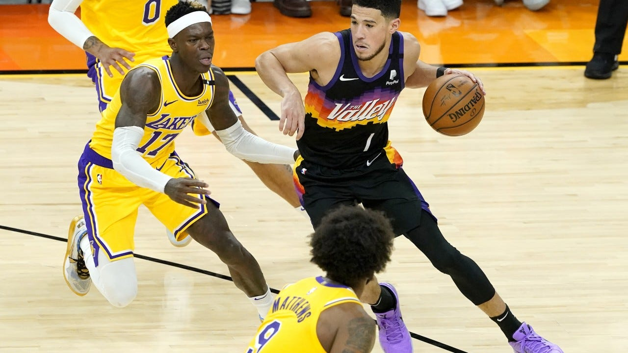 Phoenix Suns, Lakers star LeBron James both in unusual positions heading  into Game 6