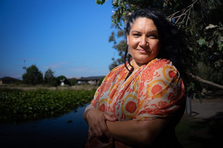 Naomi is an Indigenous survivor of domestic violence. She says more needs to be done to tackle the issue within her community. Indigenous women are 35 times more likely to experience domestic violence than non-Indigenous women [Ali MC/Al Jazeera]