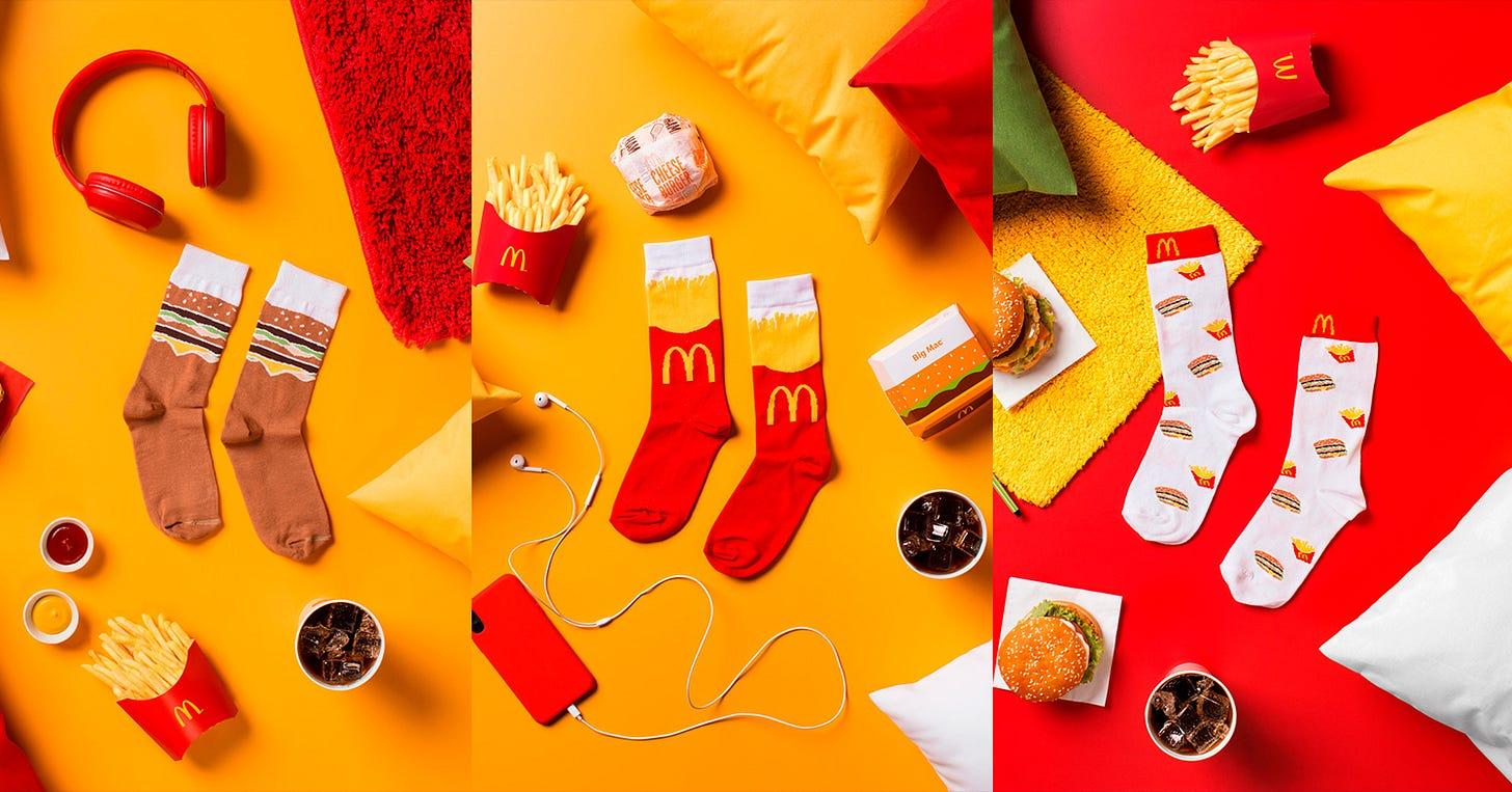 McDonald's vende meias da festa do pijama do BBB 21 - GKPB - Geek  Publicitário
