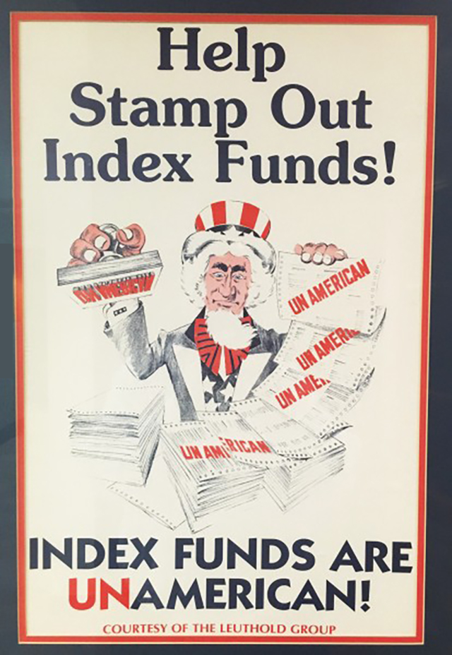 Help stamp out index funds
