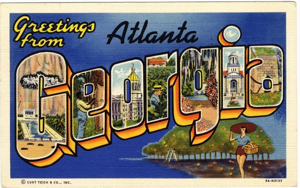 Image result for georgia postcard