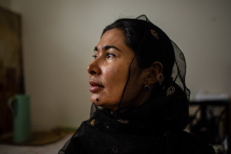 Tursunay Ziawudun spent nine months inside China's network of internment camps