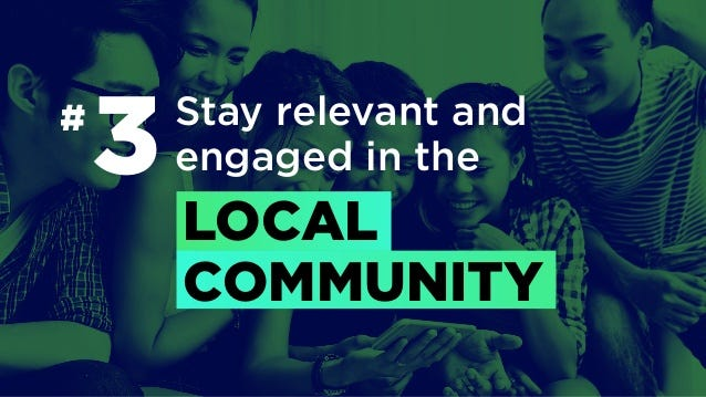 Winning Asia like Spotify # Stay relevant and engaged in the LOCAL COMMUNITY 3