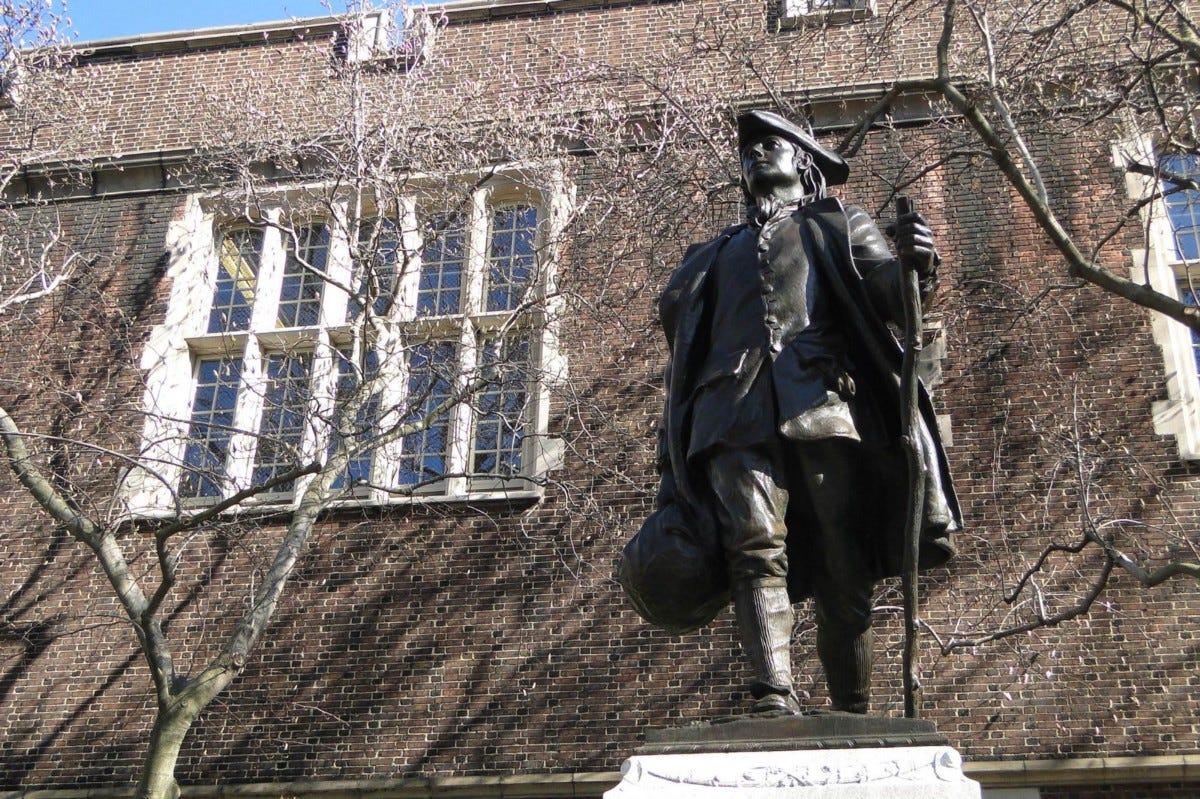Benjamin Franklin Statue PA