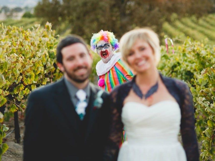 Marvin Laura clown 2