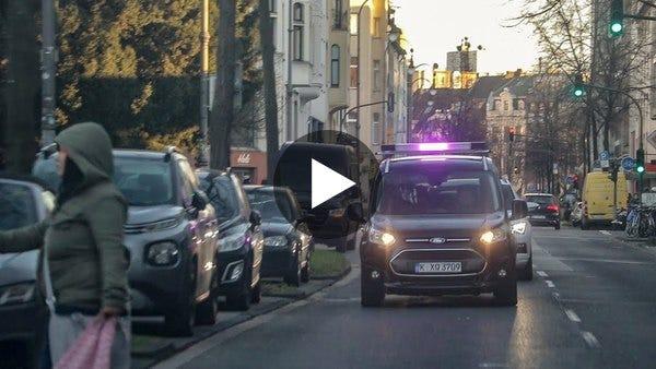 Ford's pedestrian communication