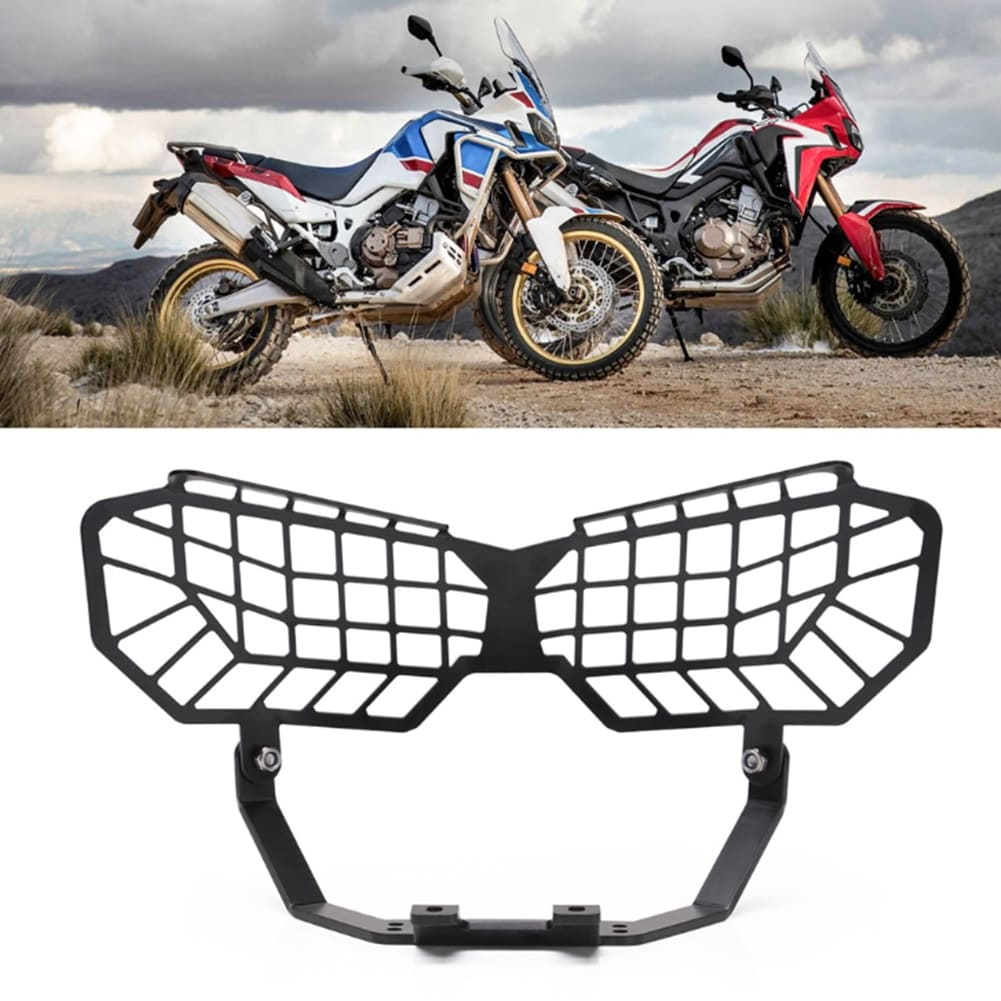 Motorcycle Headlight Grille Light  Protection Cover Protective  Guard Cover Protector For Honda CRF1000L 2016-2019