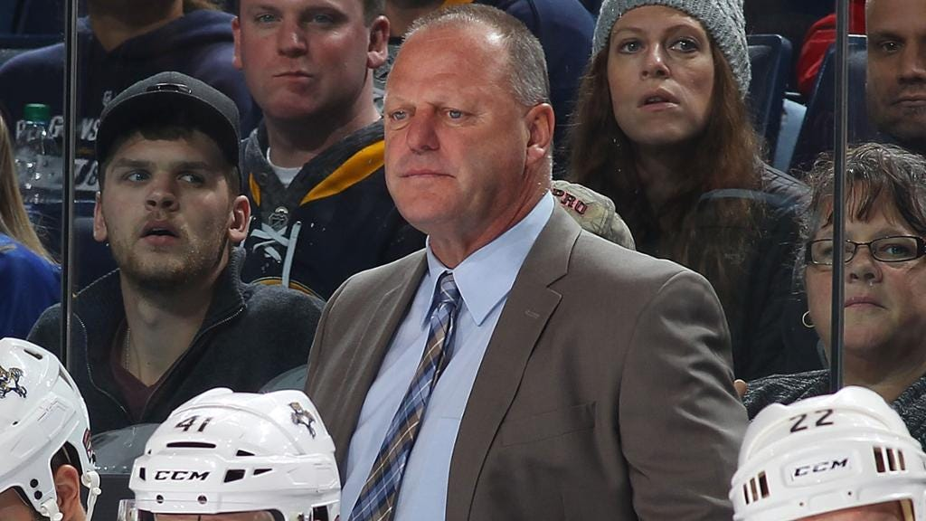 Panthers fire coach Gerard Gallant