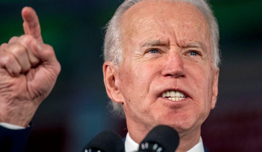 Joe Biden: Bernie Sanders winning nomination would make electing ...