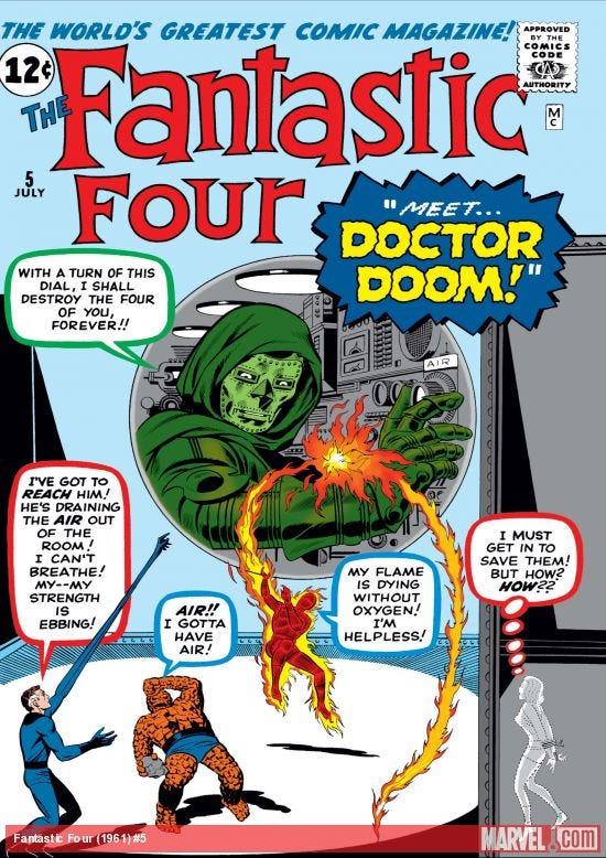Fantastic Four (1961) #5   Comic Issues   Marvel