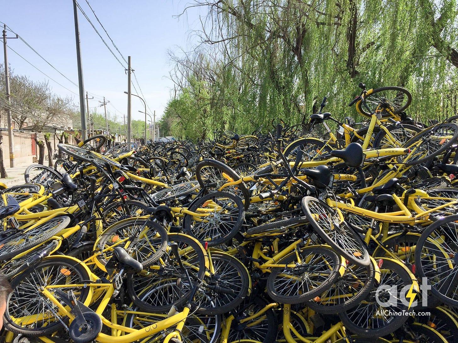 Image result for bike graveyward