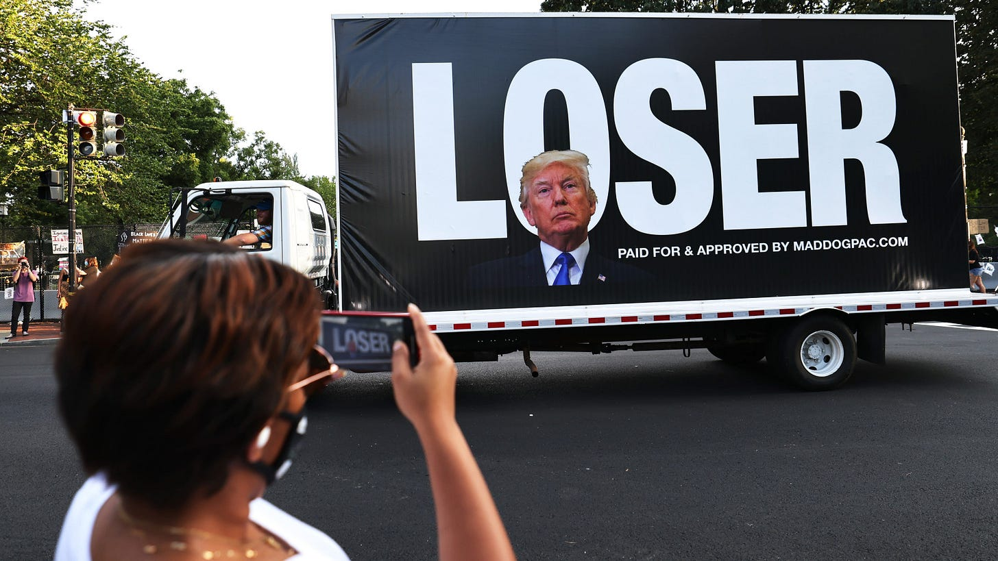 Trump tax returns: Reality show businessman is now U.S. loser in chief