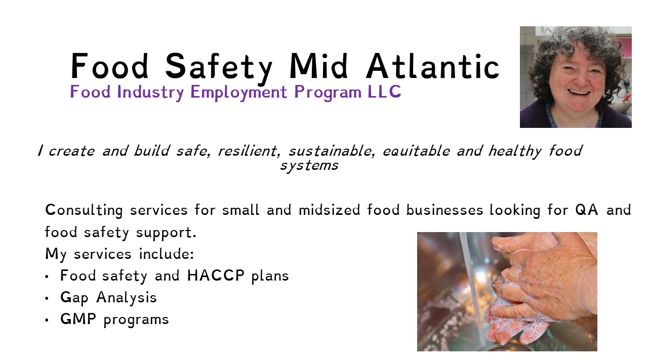 Food Safety Mid Atlantic can help you with QA and Food Safety. Contact us for help with your allergen program!