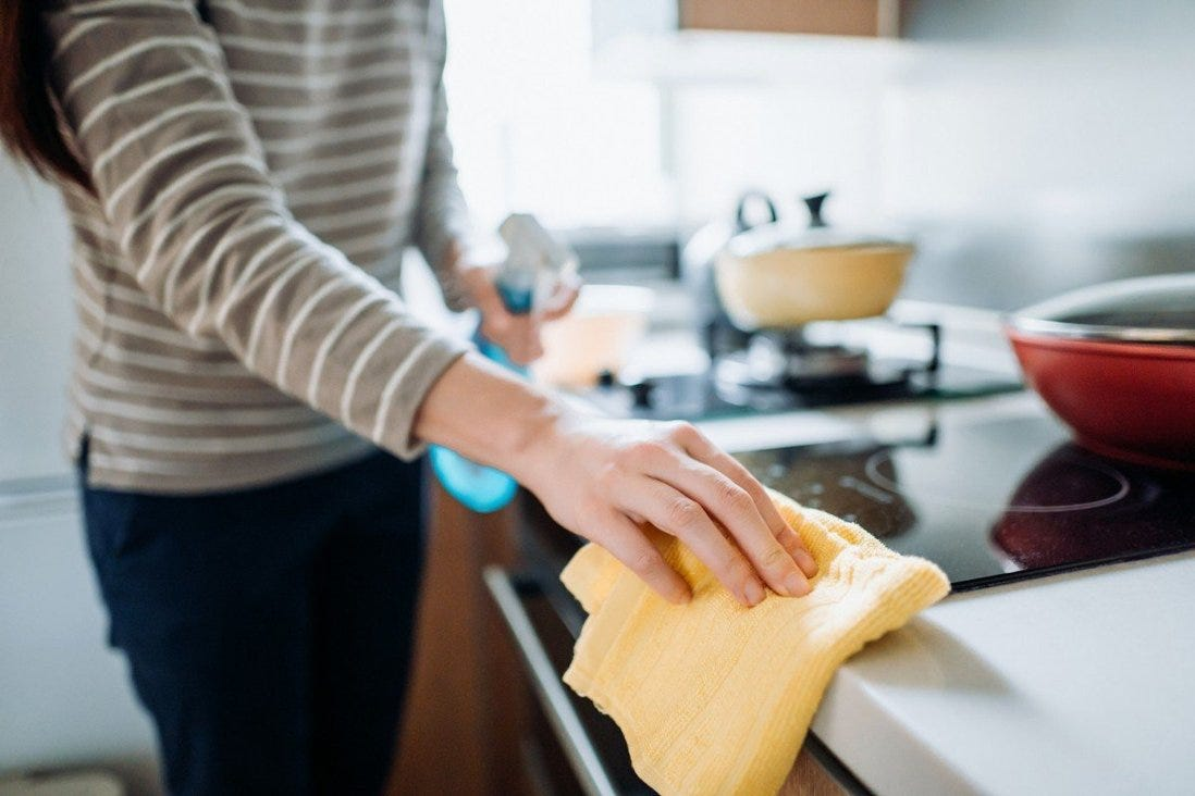 A Chinese court has ordered a former husband to pay his wife a one-off 50,000 yuan for housework she had done over a five-year period while they were still married. Photo: Getty Images