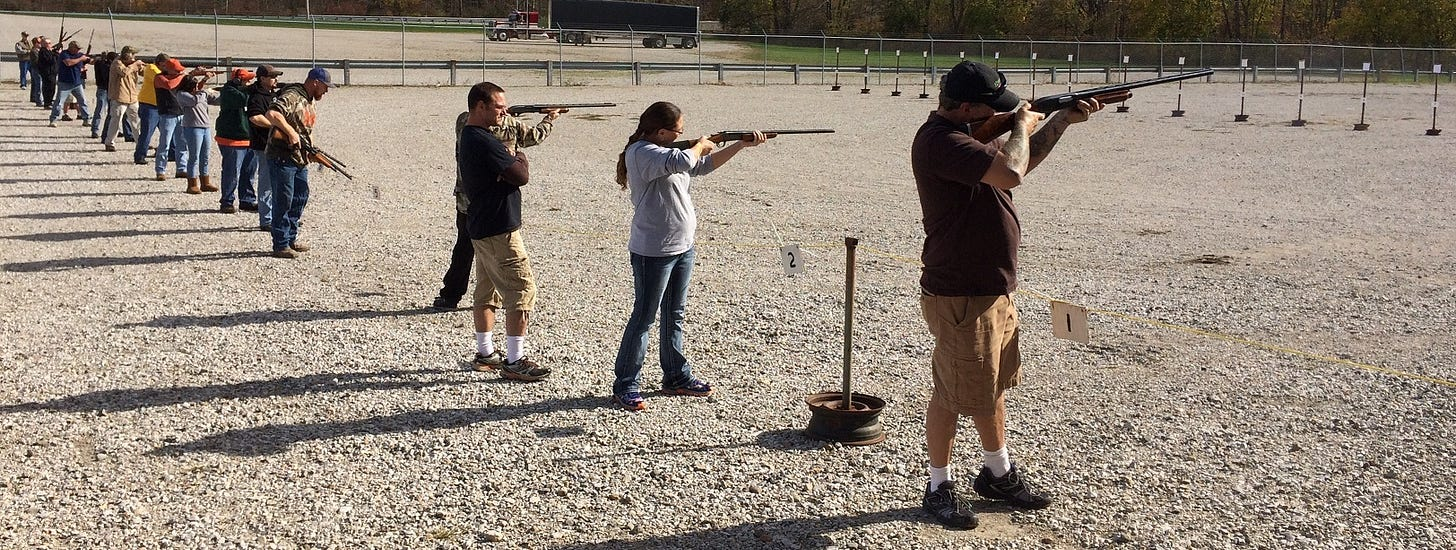 Turkey Shoots are a Hoosier tradition for the whole family.