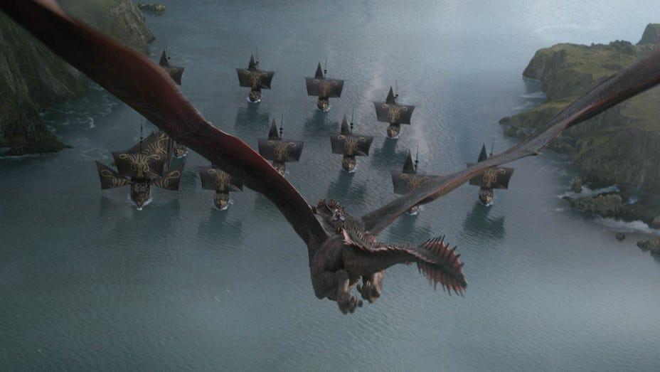 'Game of Thrones' S8E4 dragon attack - Publicity - H 2019