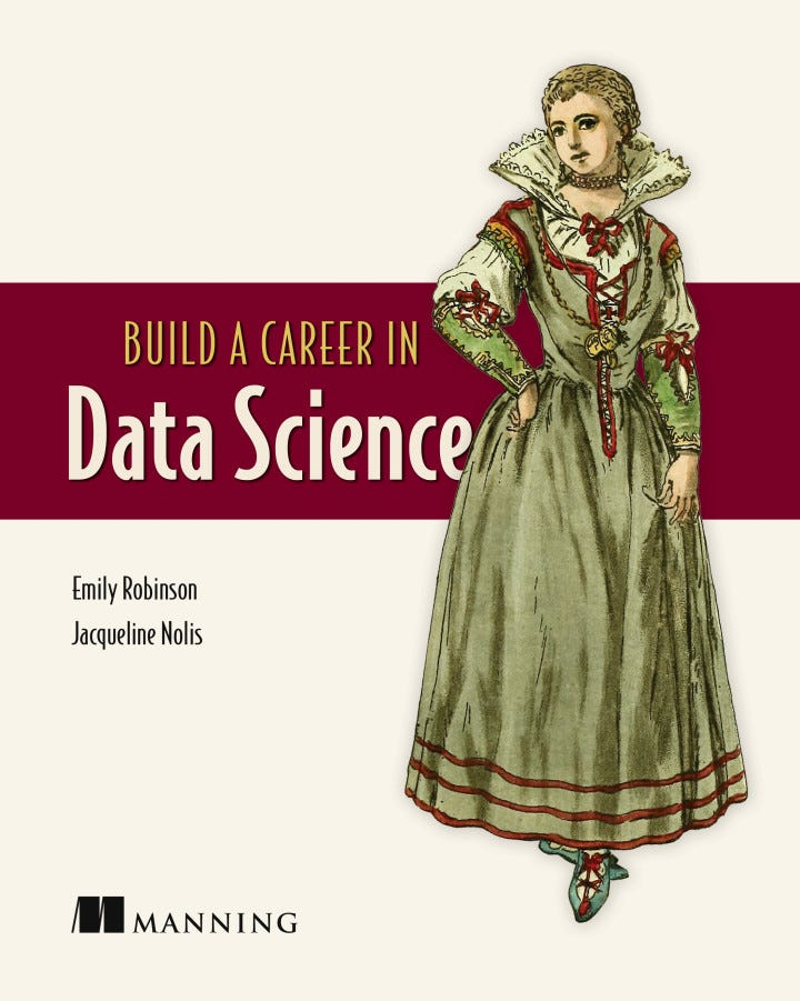 Build Your Career in Data Science cover