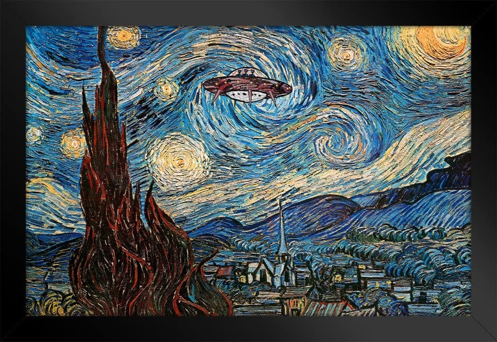 Image result for ufo acrylic painting