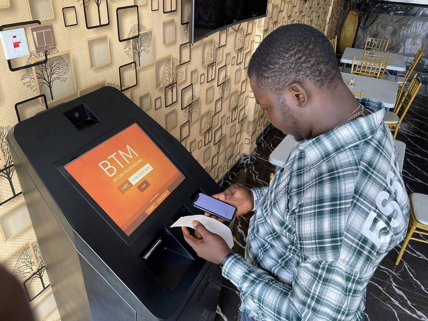 How bitcoin gained currency in Africa   The Japan Times