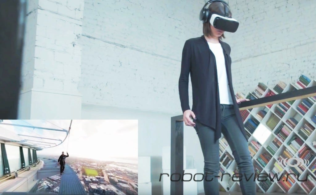 Samsung научился лечить страх высоты с помощью Gear VR