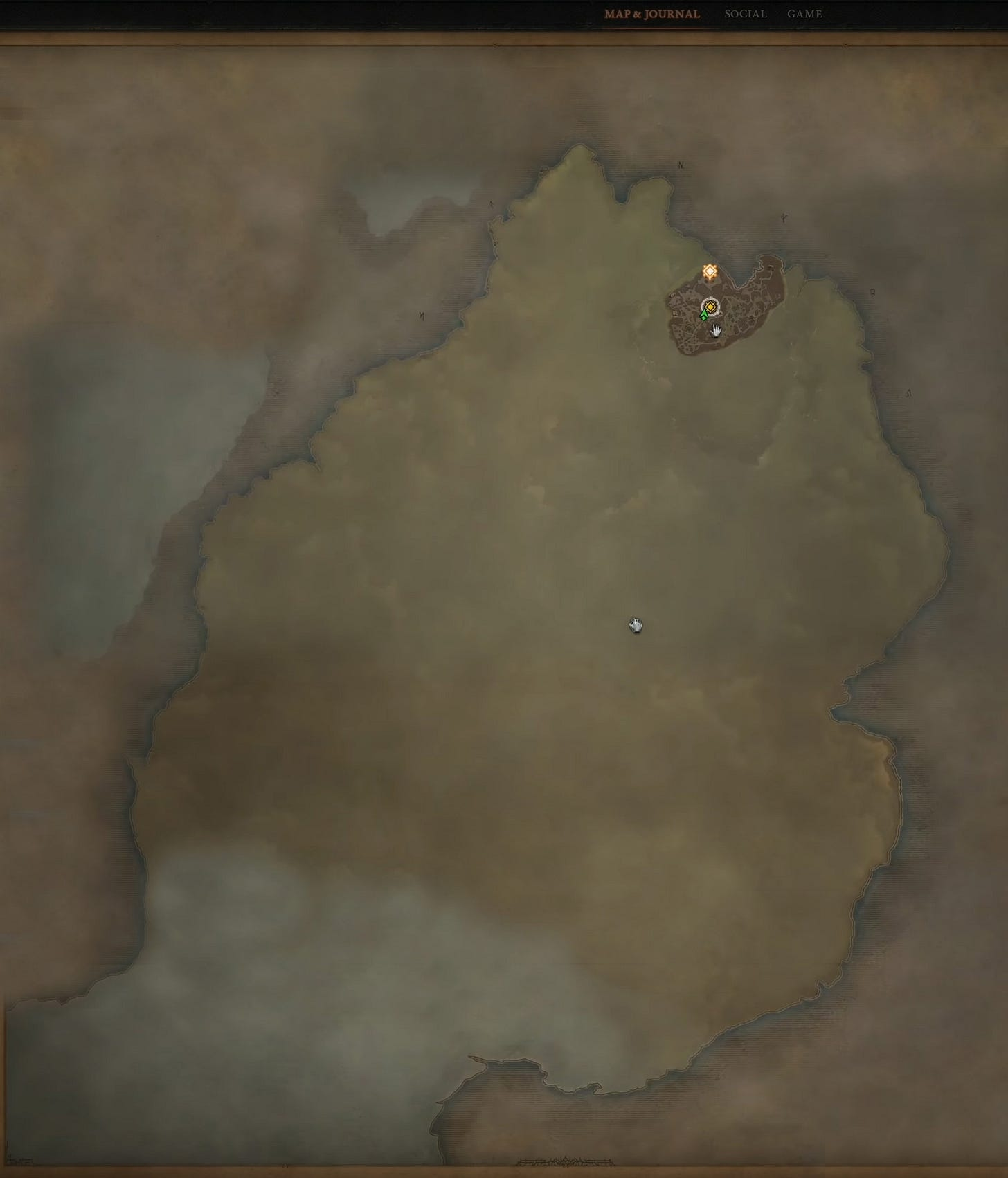 Scosglen Map