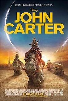John Carter theatrical release poster