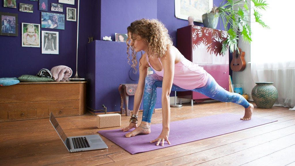 8 Tips on How to do Yoga at Home - Practise and All is Coming ...
