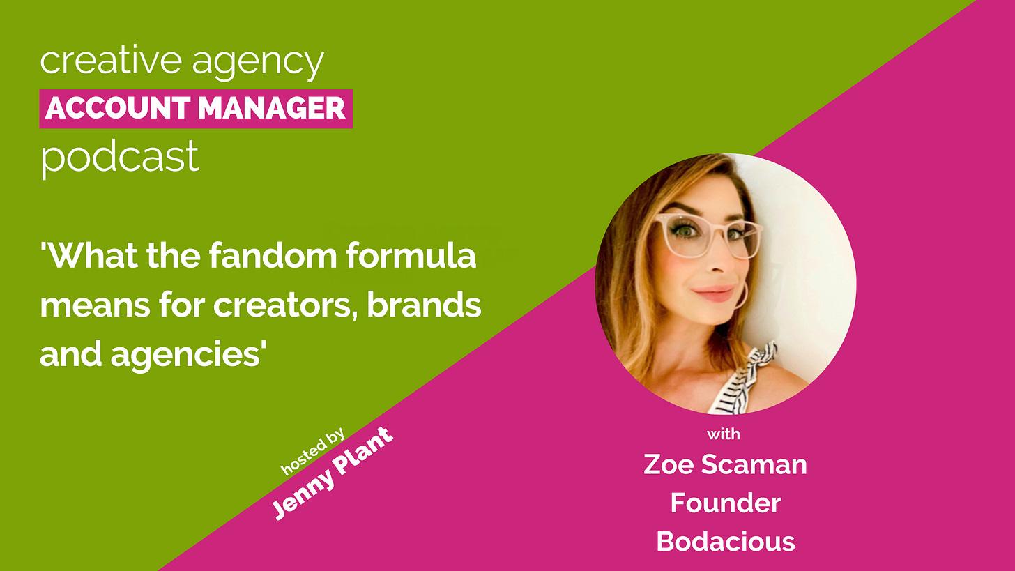 Zoe Scaman, Bodacious - podcast interview