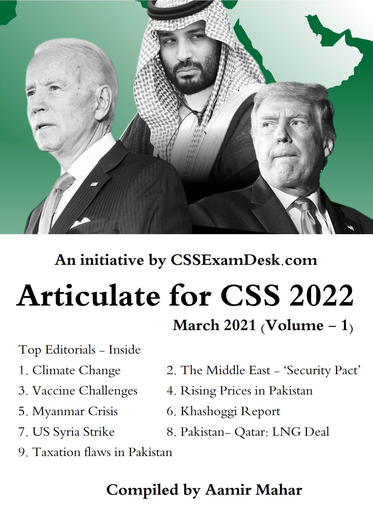 CSS 2022 Articulate – I