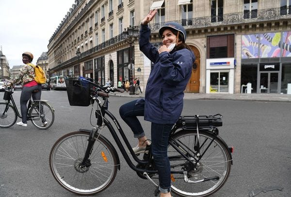 Anne Hildago Promises a Future without Cars.