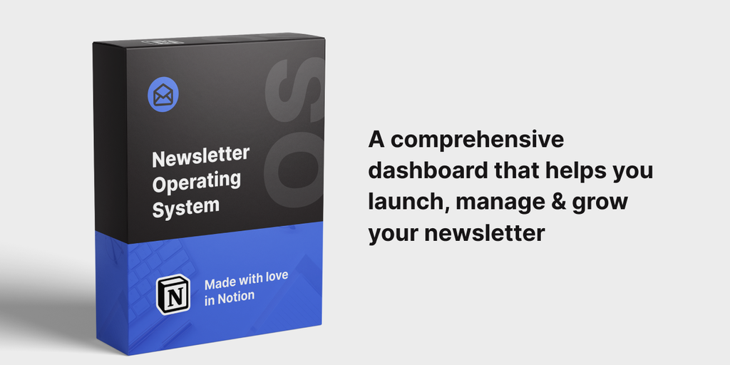 Newsletter Operating System - All-in-one dashboard to launch & grow your  newsletter | Product Hunt