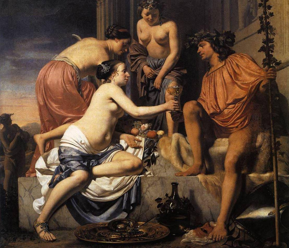Wine in Renaissance Painting   Dievole