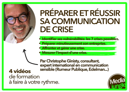 Formation à la communication de crise