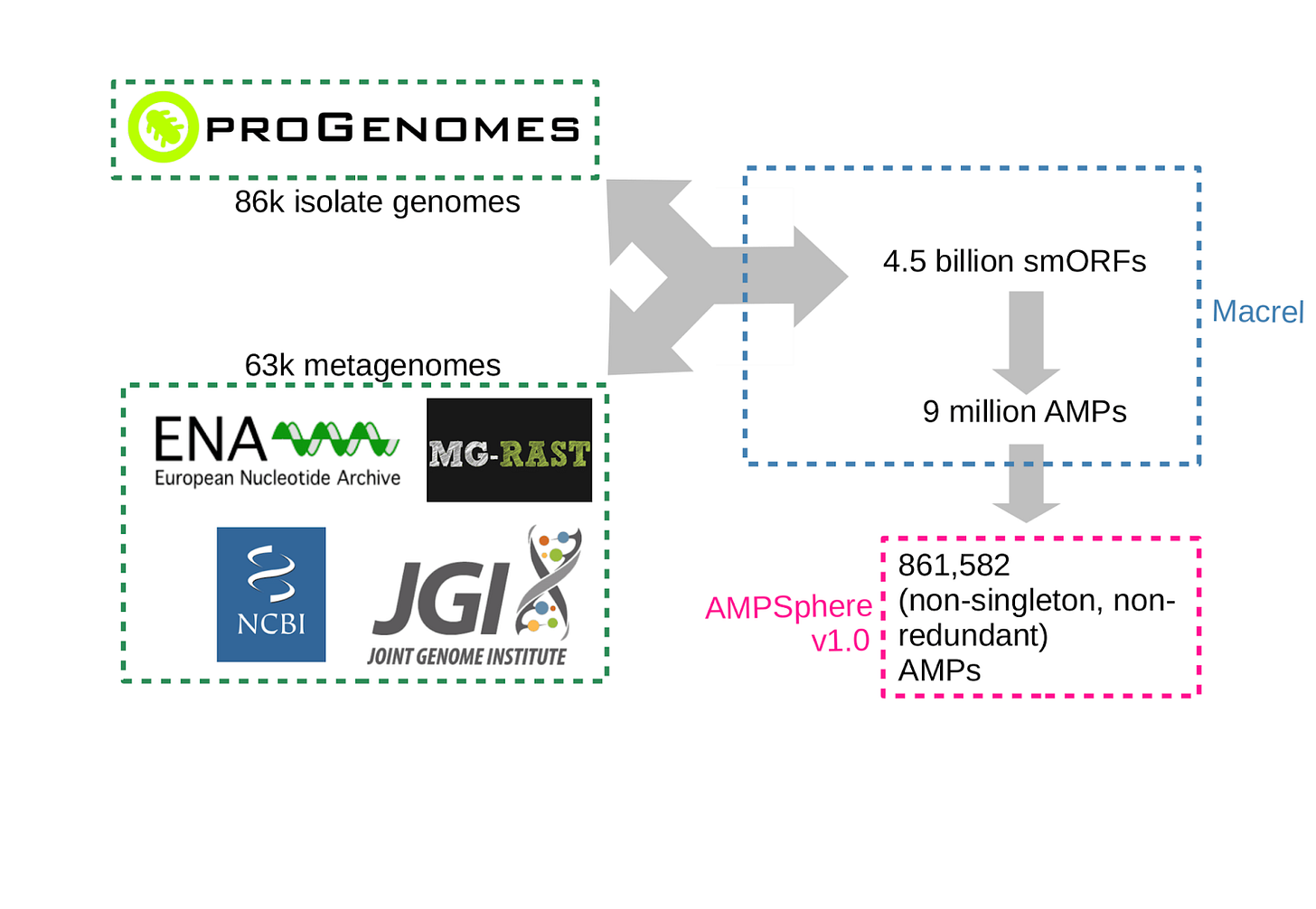 Summary of AMPSphere pipeline