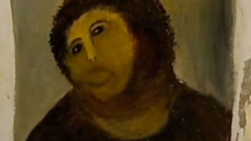 Amateur Restoration Botches Jesus Fresco in Spain | The World from PRX