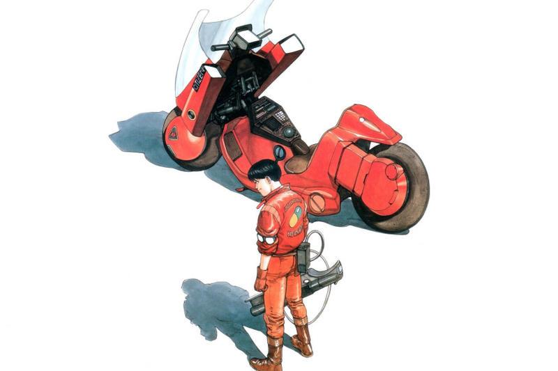Akira Katsuhiro Otomo Kaneda Bike
