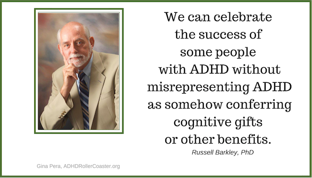 Russell Barkley on ADHD and Creativity