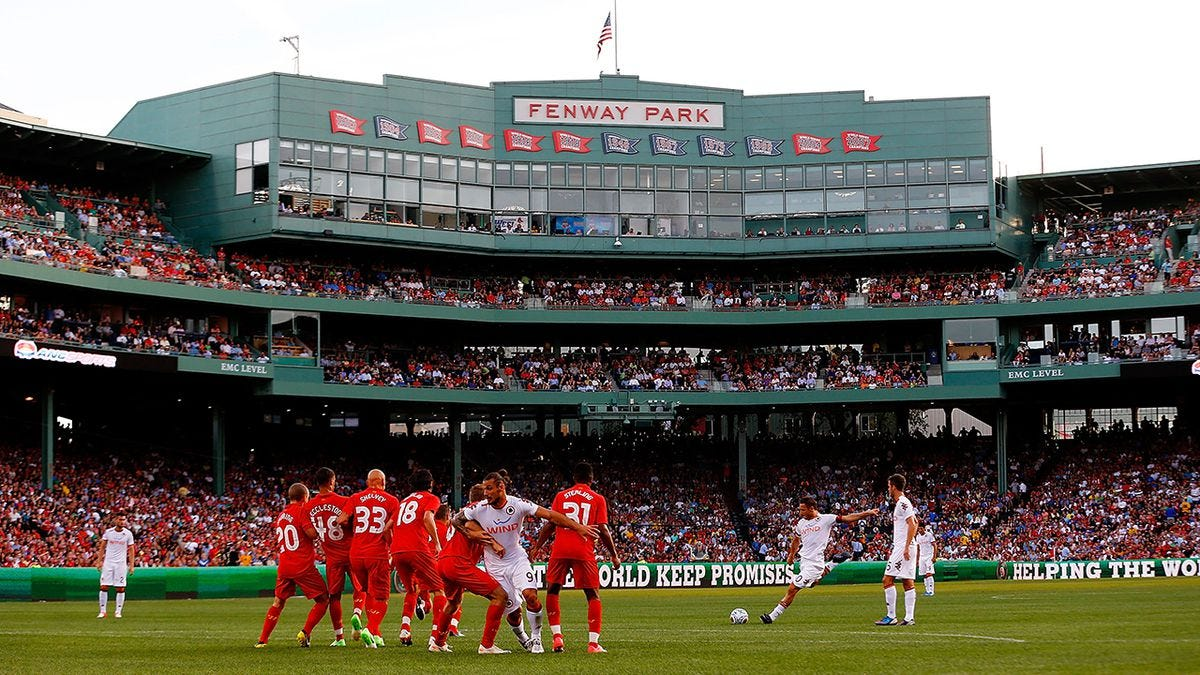 Liverpool FC set for U.S. tour, to play Sevilla at Fenway in July