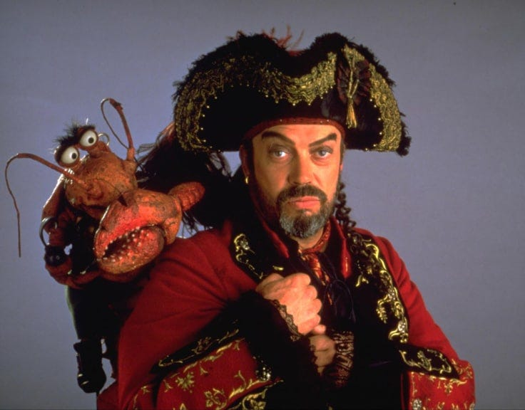 Image result for tim curry muppet treasure island